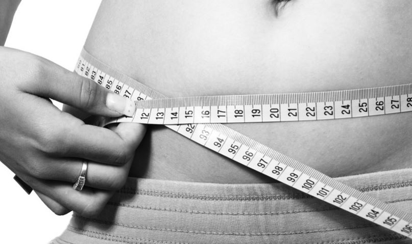 Womam Measuring Belly Size