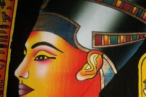 Nefertiti with Makeup