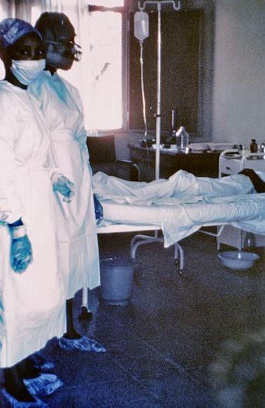 Doctors With Ebola Patients